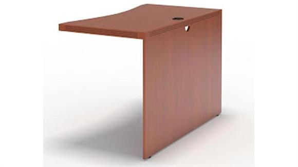 "Desk Parts & Accessories Mayline Office Furniture 42"" Contour Bridge"