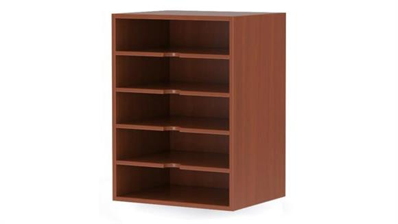 Magazine & Literature Storage Mayline Office Furniture Horizontal Paper Management