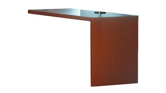 "Desk Parts & Accessories Mayline Office Furniture 48"" x 24"" Return"