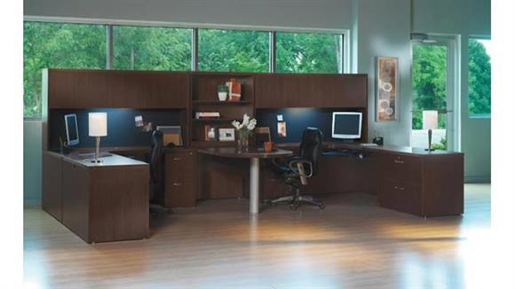 Workstations & Cubicles Mayline Office Furniture 2 Person Workstation