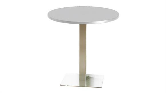 "Conference Tables Mayline Office Furniture 42"" Round Bar Height Table"