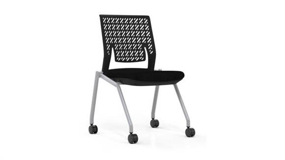 Stacking Chairs Mayline Office Furniture Flex Back Training Chair