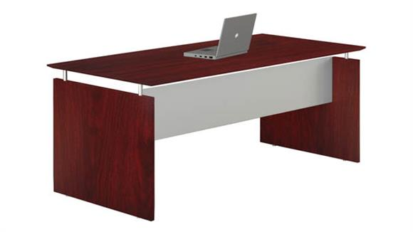 "Executive Desks Mayline Office Furniture 63"" Straight Desk"