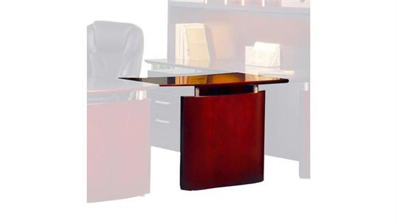 "Desk Parts & Accessories Mayline Office Furniture 48"" Left Hand Bridge"