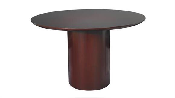 "Conference Tables Mayline Office Furniture 48"" Round Napoli Conference Table"