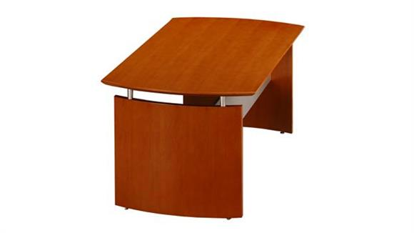"Executive Desks Mayline Office Furniture 63"" Napoli Desk"