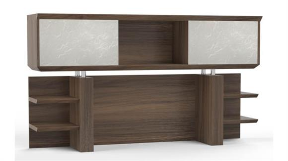 "Hutches Mayline Office Furniture 72"" Double Hutch"