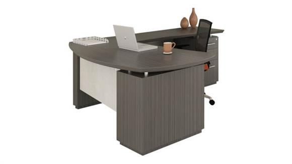 "L Shaped Desks Mayline Office Furniture 66"" L Shaped Desk"