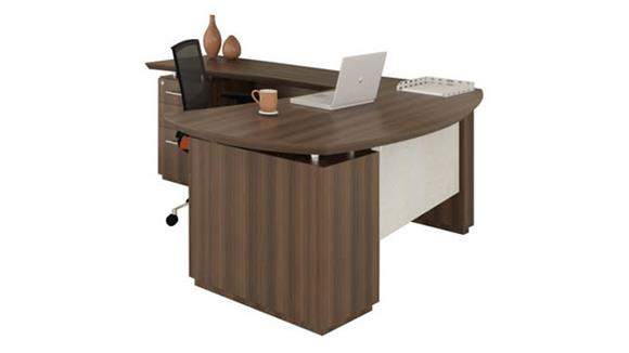 "L Shaped Desks Mayline Office Furniture 72"" L Shaped Desk"