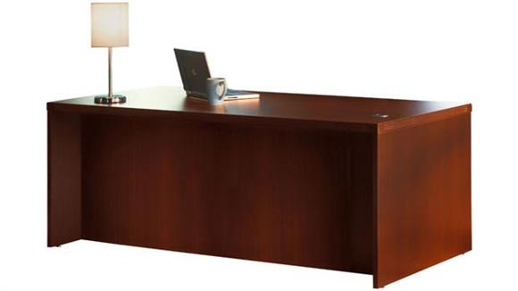 "Executive Desks Mayline Office Furniture 72"" Conference Front Desk"