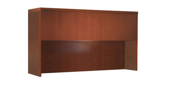 "Hutches Mayline Office Furniture 60"" Hutch with Wood Doors"