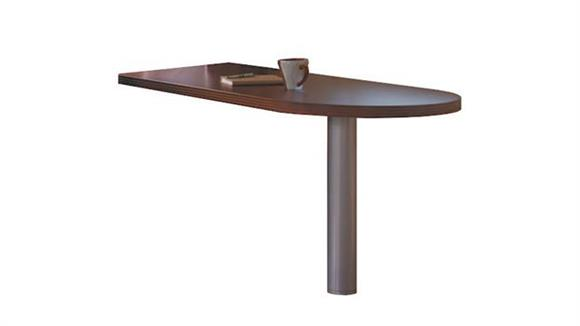 "Desk Parts & Accessories Mayline Office Furniture 60"" x 30"" Peninsula Return"