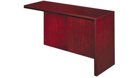 Reception Desks Mayline Office Furniture Right Reception Desk Return