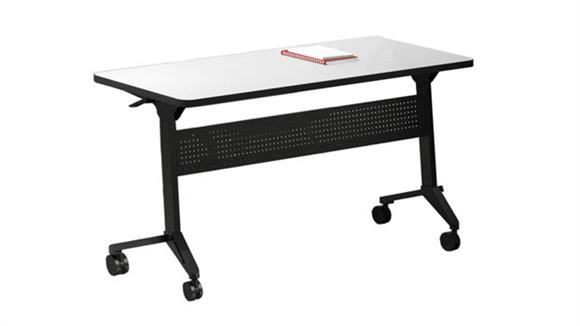 "Training Tables Mayline Office Furniture 48"" x 18"" Training Table"