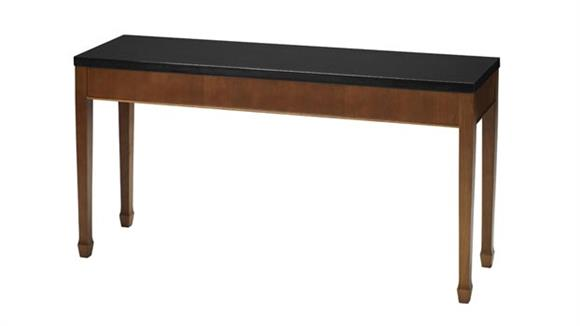 Sofa Tables Mayline Office Furniture Midnight Sofa Table