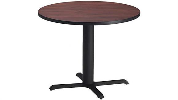 """Conference Tables Mayline 42"""" Round Conference Table"""