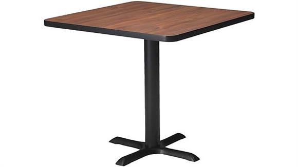 """Conference Tables Mayline 36"""" Square Conference Table"""
