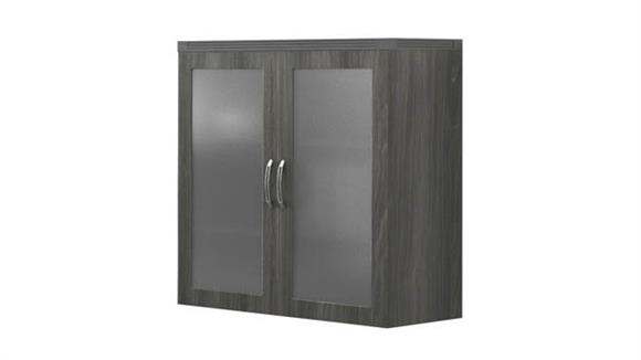Storage Cabinets Mayline Glass Display Cabinet