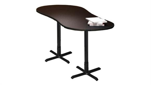 """Conference Tables Mayline 72"""" x 30"""" Peanut Conference Table"""