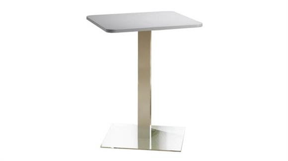 """Conference Tables Mayline 30"""" Square Bar Height Table"""