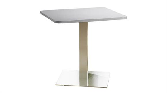 """Conference Tables Mayline 30"""" Square Dining Height Table"""