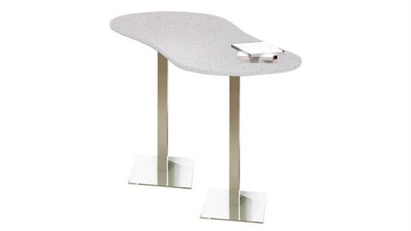 """Conference Tables Mayline 72"""" x 30"""" Peanut Bar Height Table"""