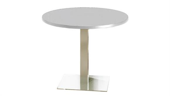 """Conference Tables Mayline 42"""" Round Dining Height Table"""