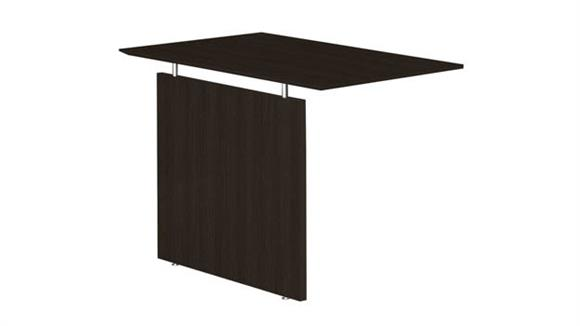 Desk Parts & Accessories Mayline Universal Straight Bridge