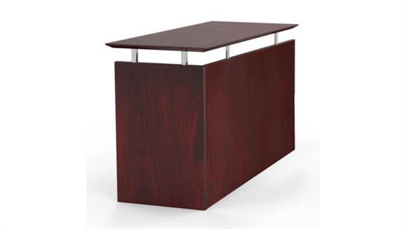 Desk Parts & Accessories Mayline Universal Straight Return