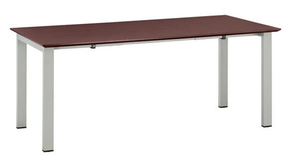 """Computer Desks Mayline 63"""" Table Desk with Straight Top"""