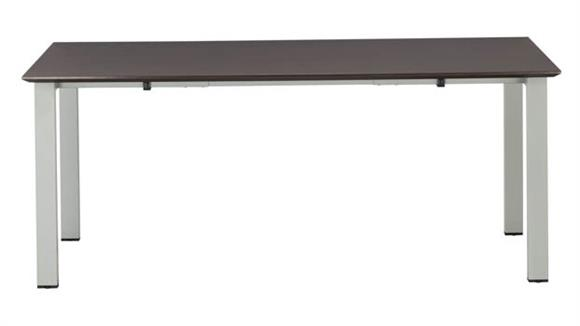 """Computer Desks Mayline 72"""" Table Desk with Straight Top"""