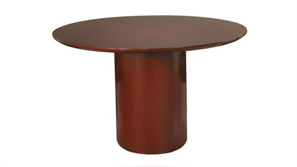 """Conference Tables Mayline 48"""" Round Napoli Conference Table"""