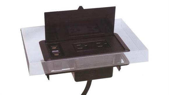 Desk Organizers Mayline Power Module