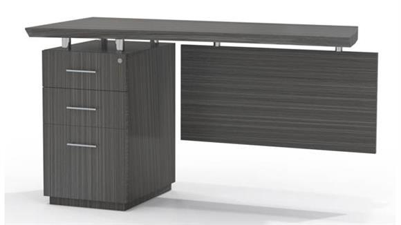 Desk Parts & Accessories Mayline Single Pedestal Desk Return
