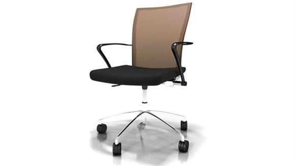 Office Chairs Mayline Height Adjustable Task Chair