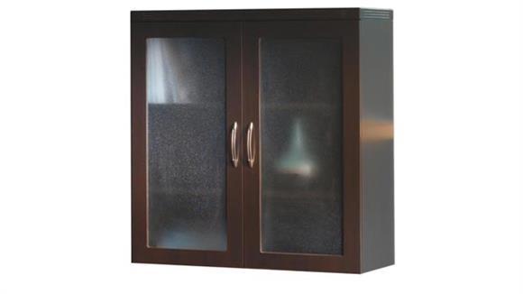 Storage Cabinets Mayline Glass Display Cabinet
