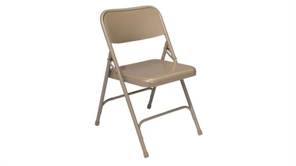 Folding Chairs National Public Seating Premium All Steel Folding Chair