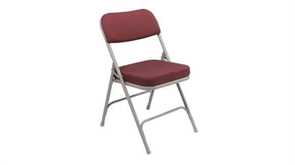 Folding Chairs National Public Seating Thick Padded Folding Chair