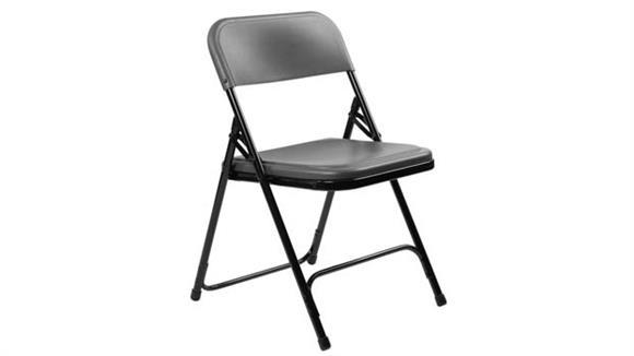 Folding Chairs National Public Seating Premium Lightweight Plastic Folding Chair