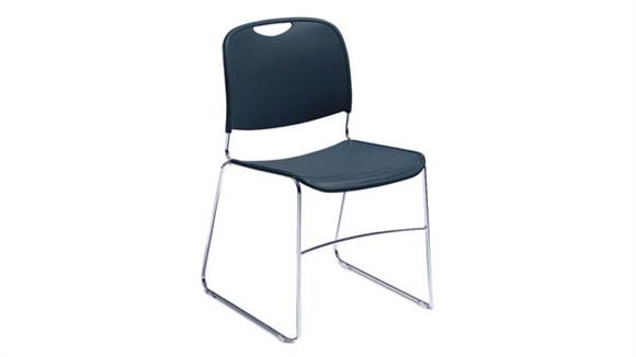 Stacking Chairs National Public Seating Hi Tech Compact Stack Chair