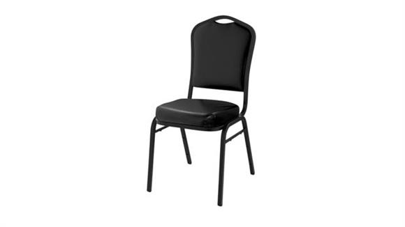Stacking Chairs National Public Seating Vinyl Padded Stack Chair
