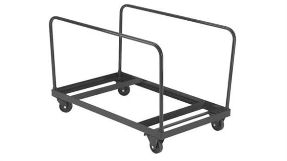 """Folding Tables National Public Seating Table Truck for 60"""" Round Tables"""