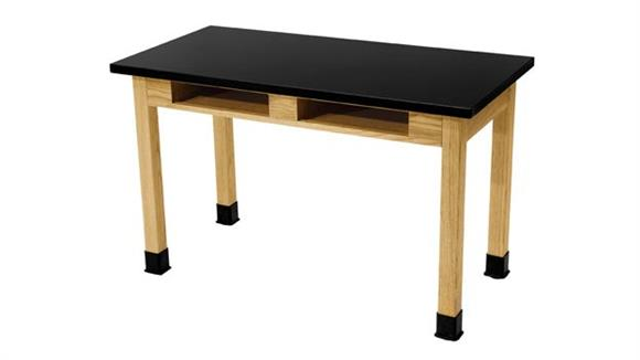 """Science & Lab Tables National Public Seating 24"""" x 48"""" Science Table"""