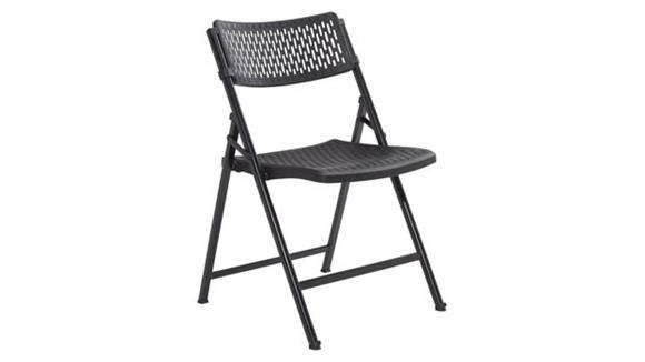 Folding Chairs National Public Seating Premium Folding Chair, Pack of 4