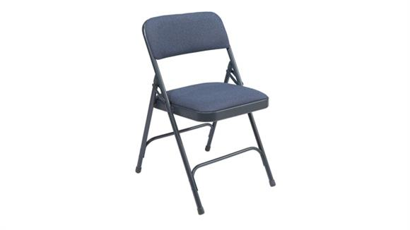 Folding Chairs National Public Seating Fabric Folding Chair