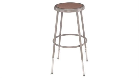 "Kitchen Stools National Public Seating 25""-33"" Adjustable Height Stool"