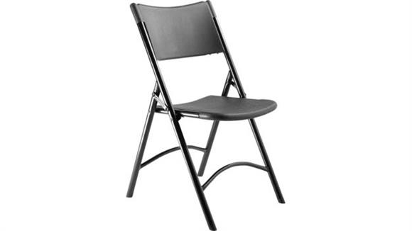 Folding Chairs National Public Seating Heavy Duty Plastic Folding Chair