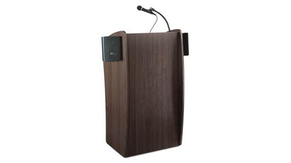 Podiums & Lecterns National Public Seating Lectern with Sound
