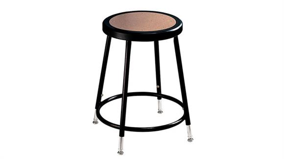 """Counter Stools National Public Seating 19""""-27"""" Adjustable Height Stool"""