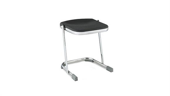 "Drafting Stools National Public Seating 18"" Stool with Blow Molded Seat"